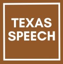 Texas Speech Logo