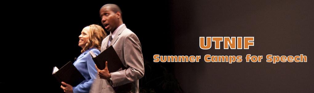 UTNIF - Summer Camps for Speech